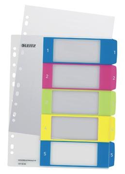 Leitz WOW printbare index, 5 tabs