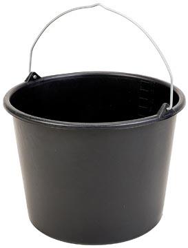 Emmer 12 liter, zwart