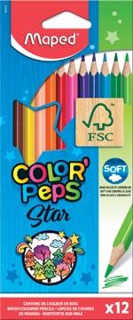 Maped kleurpotlood Color'Peps, 12 potloden