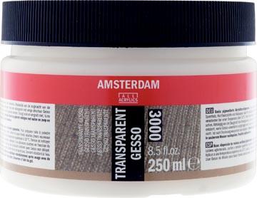 Amsterdam transparante gesso, fles van 250 ml