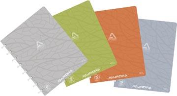 Adoc schrift Design, ft A5, 144 bladzijden, kartonnen kaft, geruit 5 mm, geassorteerde kleuren