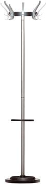 Unilux kapstok Cypres, hoogte 170 cm, 8 kledinghaken, met parapluhouder