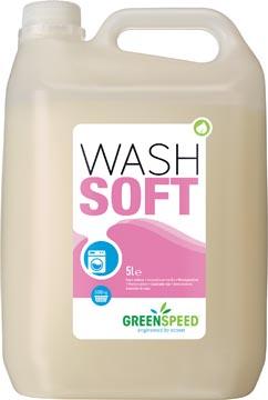 Greenspeed wasverzachter Wash Soft, 166 wasbeurten, flacon van 5 liter