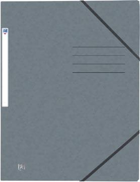 Elba Oxford Top File+ elastomap, voor ft A4, grijs
