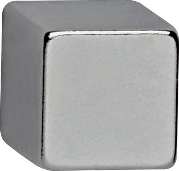 Maul neodymium kubusmagneet, ft 10 x 10 x 10 mm, pak van 4