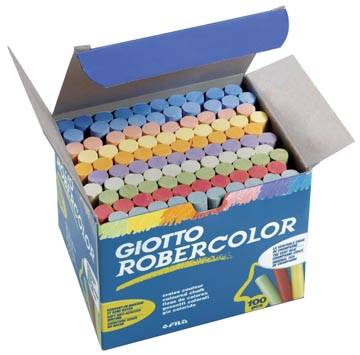Giotto krijt Robercolor geassorteerde kleuren