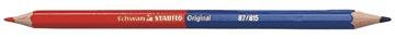 STABILO Original rood/blauw potlood