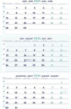 Brepols driemaandskalender 2022
