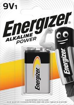 Energizer batterij Alkaline Power 9V, op blister