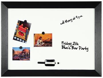 Bi-Office Kamashi magnetisch whiteboard met zwart kader