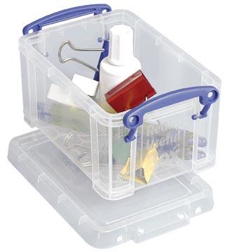 Really Useful Box 0,7 liter, transparant
