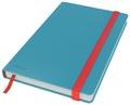 Leitz Cosy notitieboek met harde kaft, voor ft A5, geruit, blauw