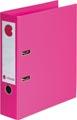 Calipage ordner, voor ft A4, volledig uit PP, rug van 8 cm, roze
