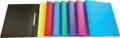 Alpha ringmap, voor ft A4, uit PP, 2 ringen van 16 mm, geassorteerde kleuren