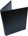 Alpha ringmap, voor ft A4, uit PP, 4 ringen van 16 mm, zwart