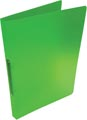 Alpha ringmap, voor ft A4, uit PP, 2 ringen van 16 mm, transparant groen