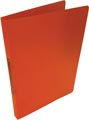 Alpha ringmap, voor ft A4, uit PP, 2 ringen van 16 mm, transparant oranje