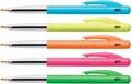 Bic balpen M10 Clic Colors doos van 50 stuks