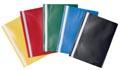 Pergamy snelhechtmap, ft A4, PP, pak van 5 stuks, geassorteerde kleuren